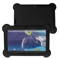 7 android 4   Yuntab 7 inch Q88 Allwinner A33 Quad Core 512MB/ 8GB Android 4.4.2 Kids Tablet PC HD Screen Dual camera with Silicone Case (2)