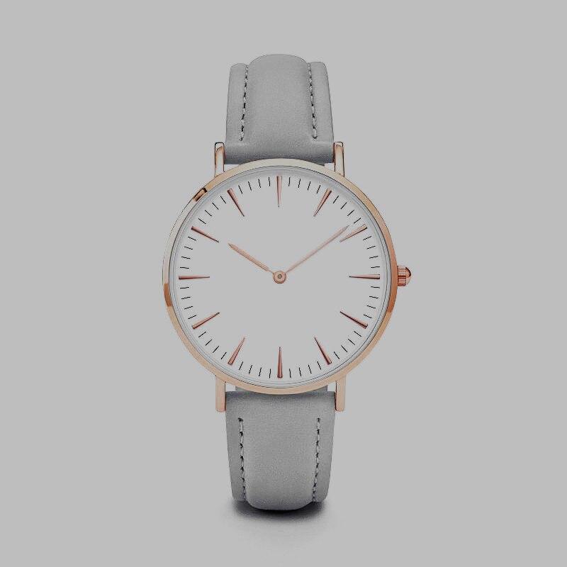 Ladies Quartz Wristwatch Women Men Business Watches L *