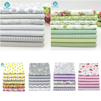 20cmx25cm, 25x25cm Or 10x10cm Cotton Fabric Printed Cloth Sewing Quilting Fabrics for Patchwork Needlework DIY Handmade Material 3