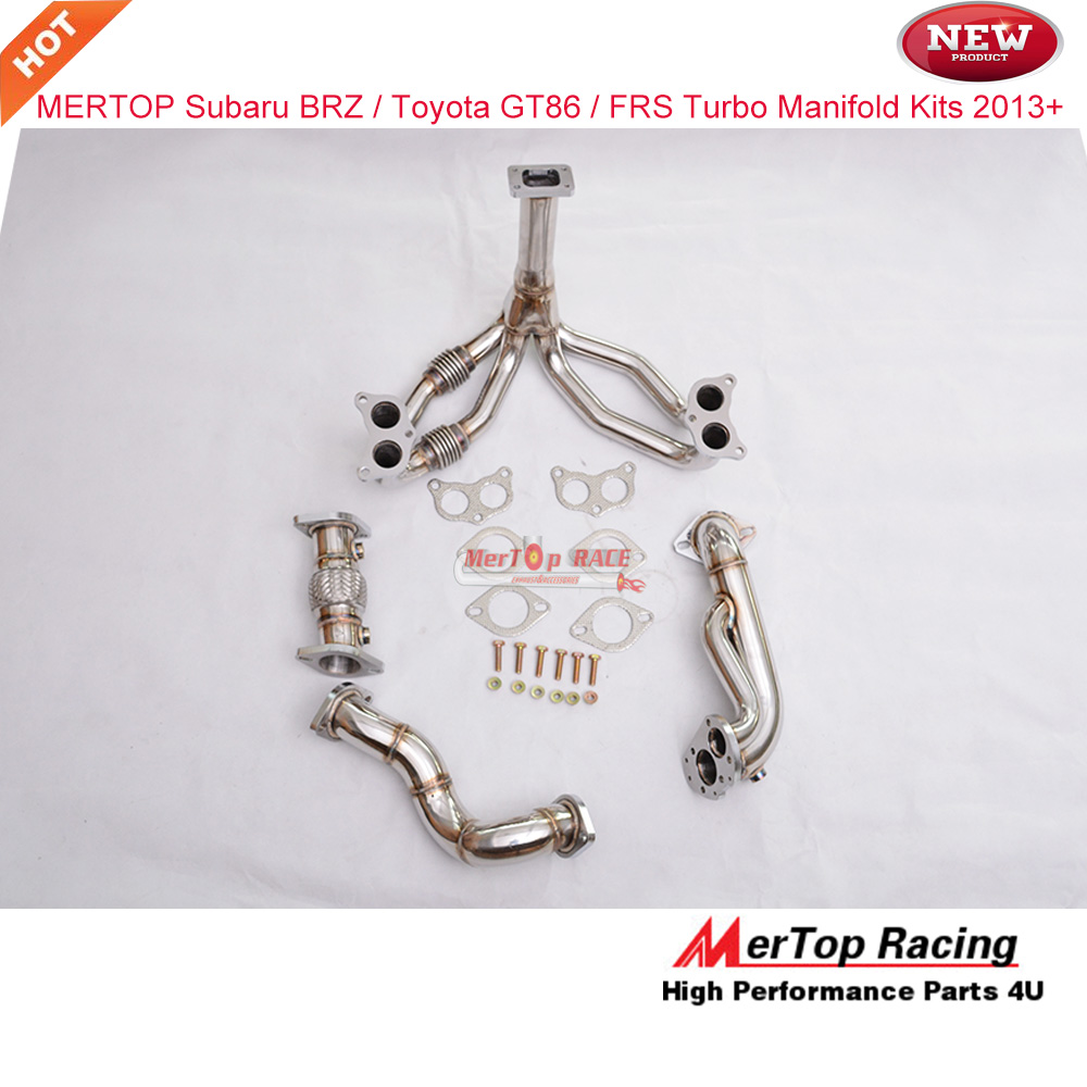 Mertop Equel Length   BRZ  GT86 FRS Turbo Exhaust Manifold 2013+