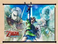 zelda Wall Scroll cosplay Skyward Sword anime Home Decor Poster New