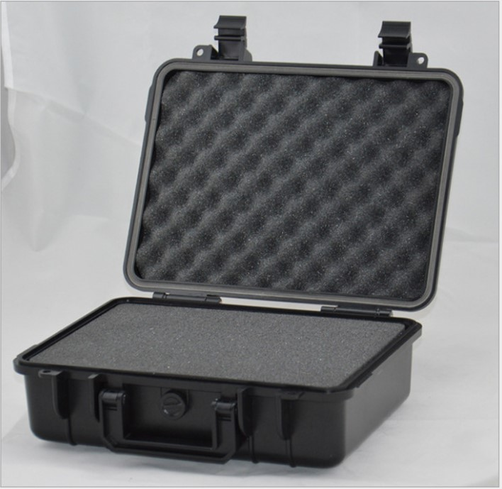 2018 hot sale protective case ABS Tool case toolbox Impact resistant sealed waterproof camera case with cut foam shipping free
