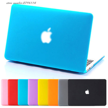 Fashion Laptop Hard Matte Rubber Case Cover Skin For Apple Macbook Case Air Pro Retina 11″ 13″ 15″with/no Touch Bar Colorful