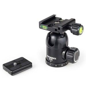 Image 5 - Innorel b36 liga de alumínio câmera tripé bola cabeça com placa liberação rápida carga máxima 12kg para fotografia panorâmica foto