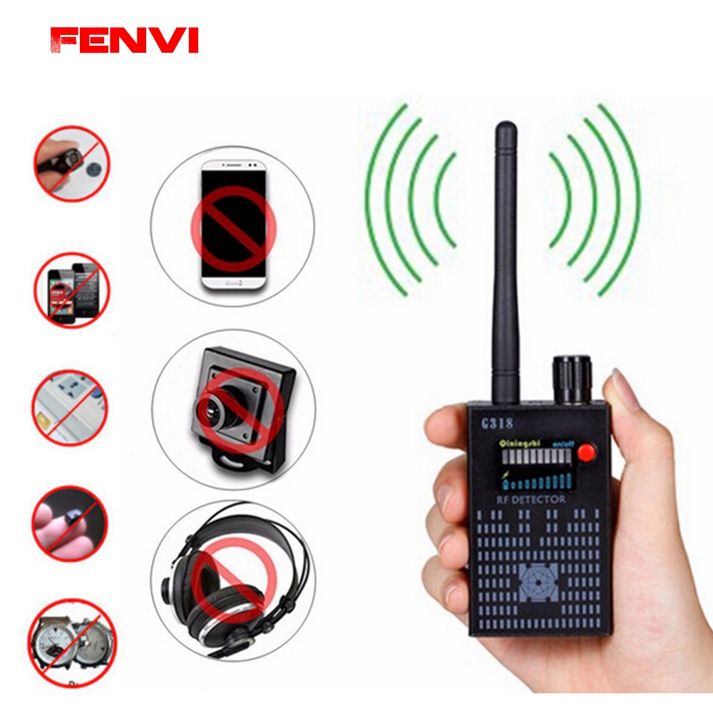 Full Range Anti-Spy Bug Wireless Signal Detector Anti Candid Camera Hidden Signal GSM Device Finder Privacy Protect Security RF 1 pcs wireless signal finder anti spy full range rf camera detector protable gsm sensor mini hidden camera use in hotel