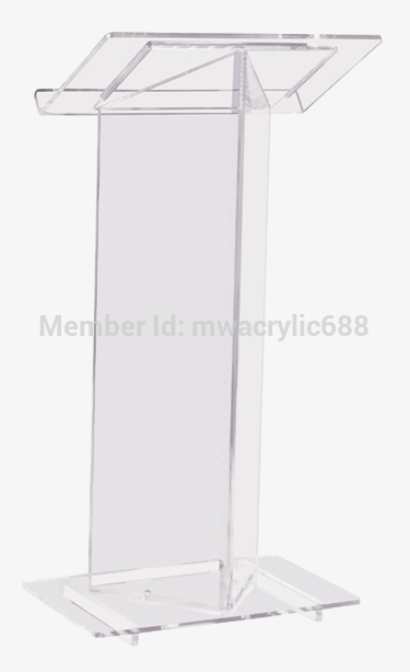 Free Shipping High Quality Cheap Clear Acrylic Lectern plexiglass|Theater Furniture| |  - title=