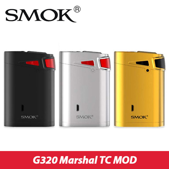 Original 320W SMOK G320 Marshal TC MOD Smoktech G320 Box Mod for TFV8 Big Baby Tank vs Smok g-priv 220w