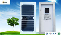 Solarparts 1x 6W Glass Solar Module Cell Kit System Panel High Efficiency 6V Solar Off Grid