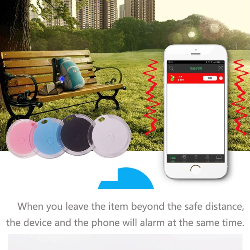 Bluetooth Alarm Antilost Device For Mobile Child Bag Wallet Key Finder Locator Anti Lost Alarm Tracker Smart Tracker GPS Locator