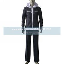Air Gear Kazuma Mikura Black Cosplay Costume Men Outfit Hoodie Pants