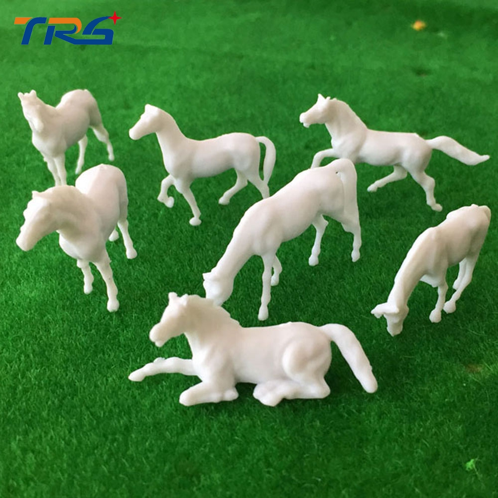 Hot Sale 1;87 Farm Animal Models Miniature Plastic Scale