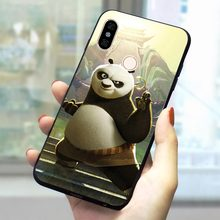 Cute Panda Soft TPU Case for Xiaomi Mi 9 Phone Cover for Redmi se 4 X 5 A 6A Plus 7 Go Pro Prime A1 A2 Note 8 Lite Shell(China)