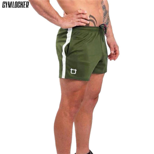 GYMLOCKER hombres jogger sweatpants pantalones cortos de playa para hombre  casual compresión de secado rápido gyms f7ddc2e204bb