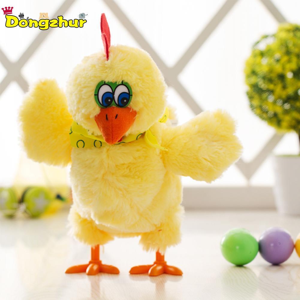 Dongzhur Nouveau Mignon Drôle jouet poulet Truc Poule Pondent des Œufs Choc Blague Cadeau Pour Enfants Antistress Gadget Intéressant Jeux QXW5451