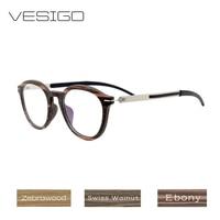 Wood Optical Glasses Frames Clear Lens Wooden Eyeglasses Frame for Women Men prescription Glasses Computer Reading Glasses0128L