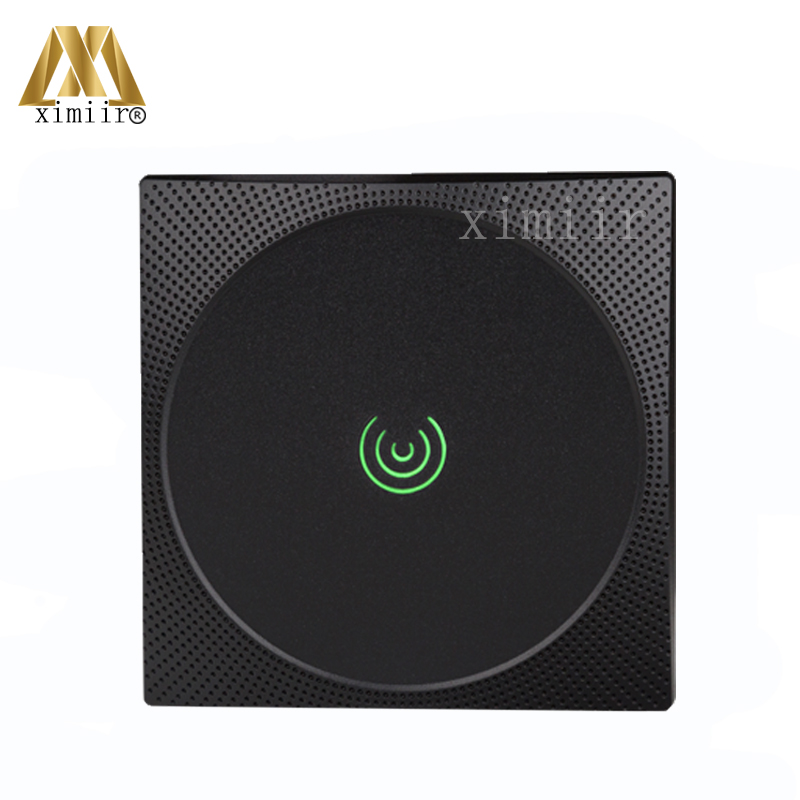 ZK KR601 125KHZ RFID Card Access Control Reader Door Control IP65 Waterproof Wiegand26 Card Reader EM Card Smart Card Reader weigand reader door access control without software 125khz rfid card metal access control reader with 180 280kg magnetic lock