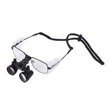 Оголовье широкое поле 2.5X Стоматологическое увеличительное стекло глаз Стекло es ортопедическая Стоматологическая хирургическая увеличительный прибор Лора