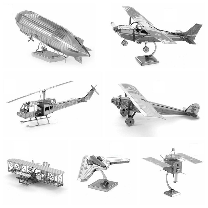 Creative Airplane series Spaceship Model Assemble Toys 1