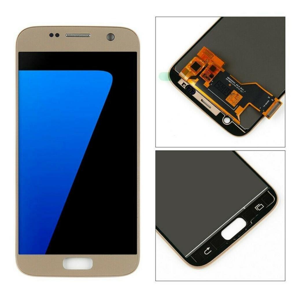 Haute qualité LCD affichage écran tactile numériseur assemblée pour Samsung S7 LCD écran tactile numériseur assemblée 2019 nouveau