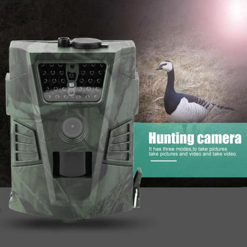 HT-001 12MP Outdoor Hunting Camera 60 Degree Detection Angle Digital Hunting Trail Camera Cameras Wildlife atatry 001m wildlife digital trail hunting camera