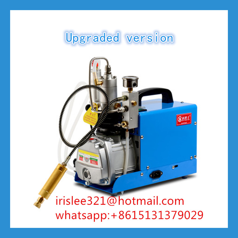 High Pressure Gas Compressor : Bar pcp high pressure pump air compressor for gas