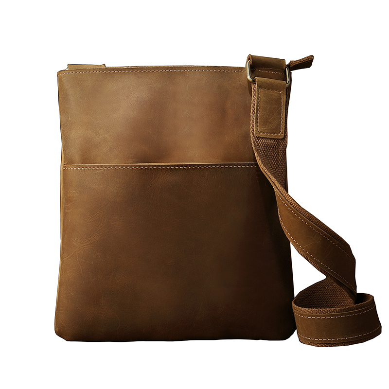 New Arrival Amasie New Arrival Men Crossbody Vintage Genuine Leather Small Flap Causal Bag for Father Best Gifts EGT0121 new arrival iron