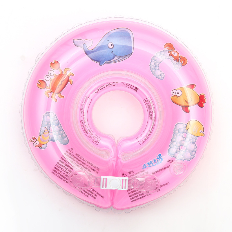 Swimming Baby Pools Accessories Infant Neck Inflatable Wheels for Newborns Bathing Circle Safety Float
