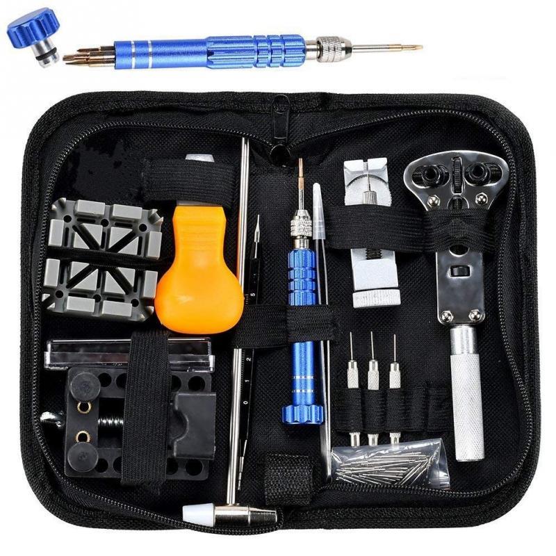 144 Teile/satz Professionelle Teller Link Entferner Armband Uhr Band Pin Uhr Strap Reparatur Werkzeuge Guter Geschmack