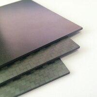 Полная пластина из углеродного волокна 3,0x400x500 мм высококомпозитный материал лист из углеродного волокна 3 шт./пакет для FPV ЧПУ резки