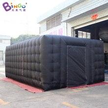 Подгонянный 6X4X2,5 m надувной черный шатер/прямоугольный надувной шатер-игрушечный шатер