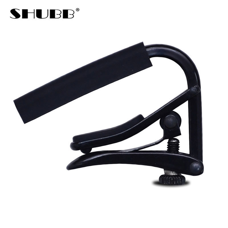 SHUBB Brand Guitar Capo Fine-tuning Design Soft Silicone Global Patent Durable Electroplating Process Guitarra Capo C1k global brand 2015 da33 440c 56hrc