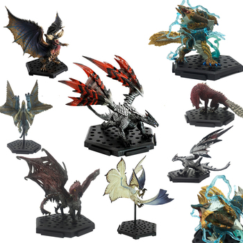 Popular Games Dragon Model Japan Monster Hunter World Monsters PVC Zinogre  Action Figure Decoration Christmas Gift Toy 1