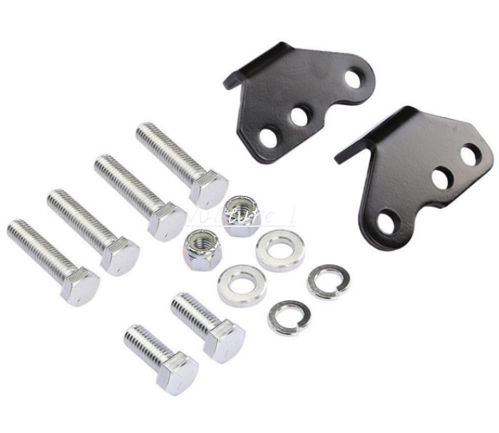 1 to 2 Shock SUSPENSION Lowering Kit For 93-01 Harley Touring Street Glide New