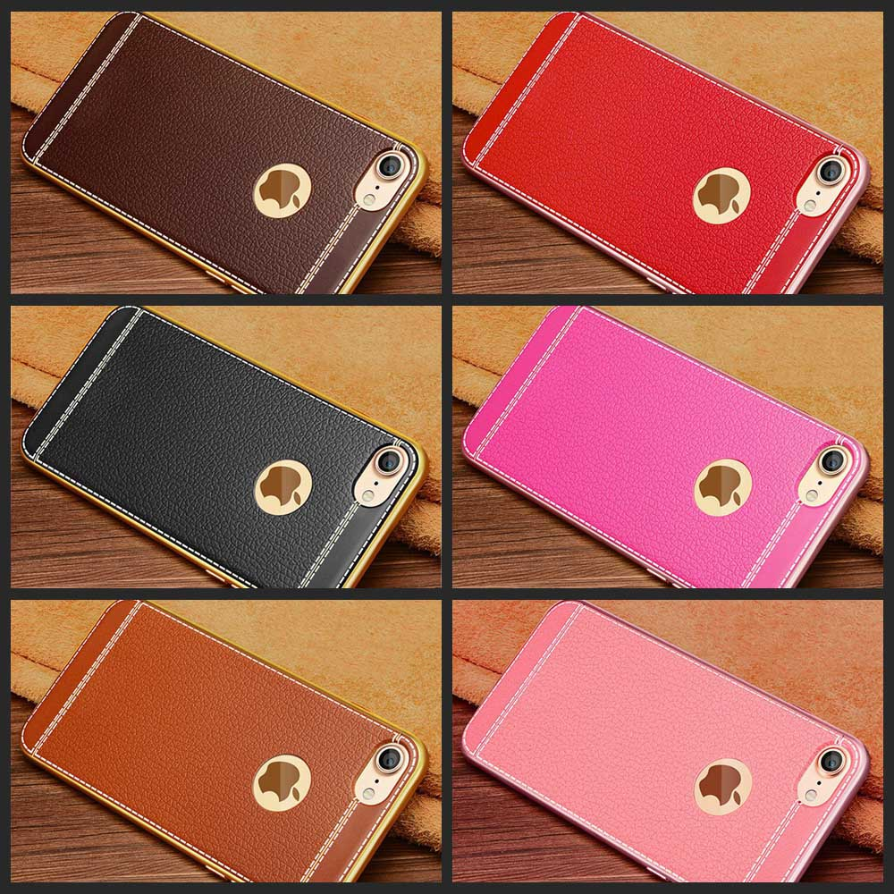 Gold Plated Iphone Case for 6S 6 7 8 Plus 5S 5 SE and new models 4