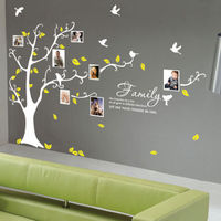 Photo Wall Sticker Family Tree Bird Wall Stickers Wall Quotes Stickers