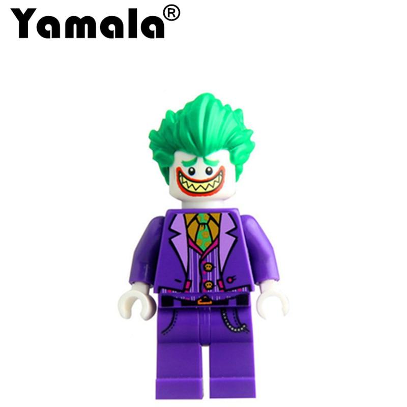 [Yamala] Batman movie Set Joker Harley Quinn Robin figure Building Block Toy Compatible with Legoingly Batman toys batman super heroes mini avenger figures villains joker beetle black manta movie building block toy compatible with legoe pg080