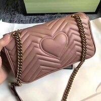 Luxury Brand Handbags Women Designer Top Quality Real Leather Bag Shoulder Bag fashion Evening Chain Bag Free Shipping DHL