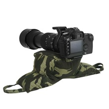 Selens Camouflage Style Zitzak Soft Pillow Mount voor Telelens Wildlife Photo Gear