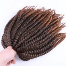 """Роскошные для плетения 1"""" 12 прядей/упаковка 4 пачки/лот Омбре Коричневый Крючком косы Mambo Твист Синтетические волосы для наращивания"""