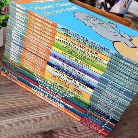 25 livros definir um elefante piggie