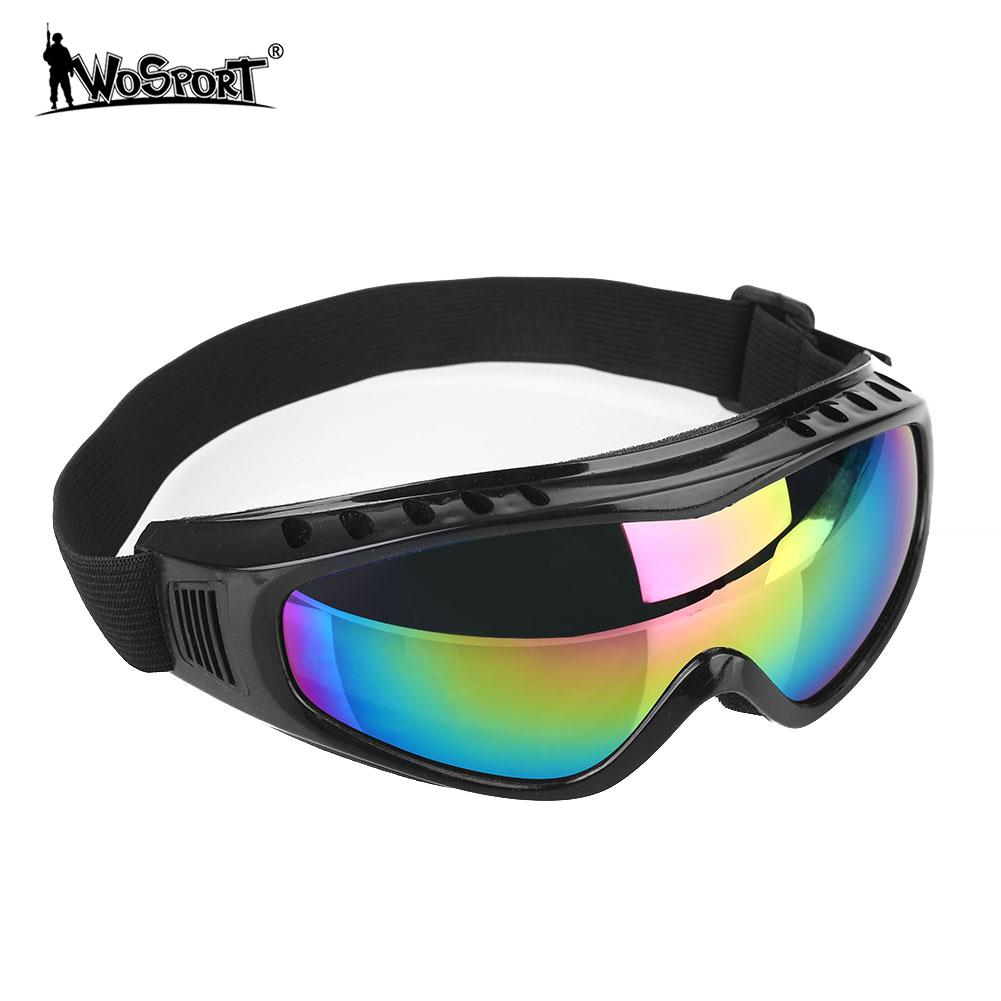615cb830aa4 Snowboard Eyewear Ski Goggles Sunglasses Cycling glasses Anti UV Wind Sand  PC Lens Fashion Skating Winter Snow Outdoor Sports -in Skiing Eyewear from  Sports ...