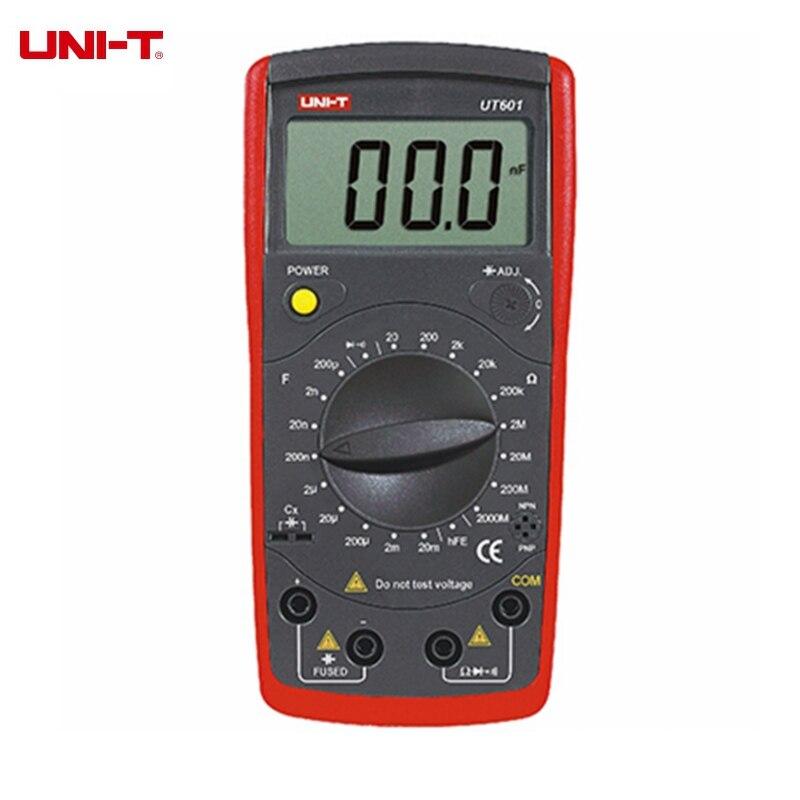 UNI-T UT601 UT602 UT603 Professional Inductance Capacitance Meters Resistance Capacitance Tester Ohmmeters dw ad 601 m18 120(601 602 603 604 605)