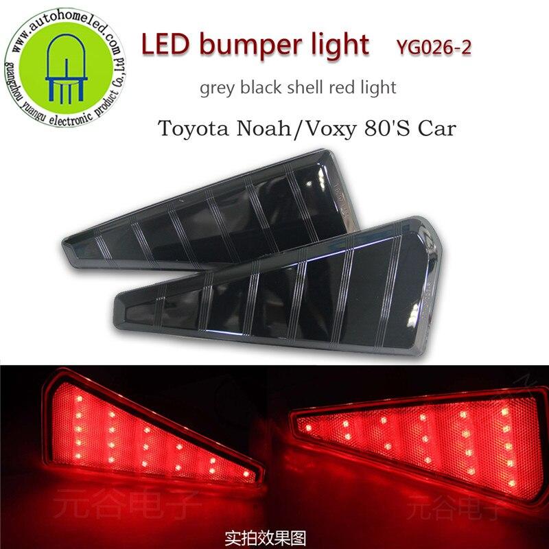 2 STÜCK X Auto Heckschürze licht für Toyota Noah Voxy 80ER Position ...