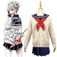 Anime My Hero Academia Himiko Toga Costume Cosplay Halloween Party Uniform
