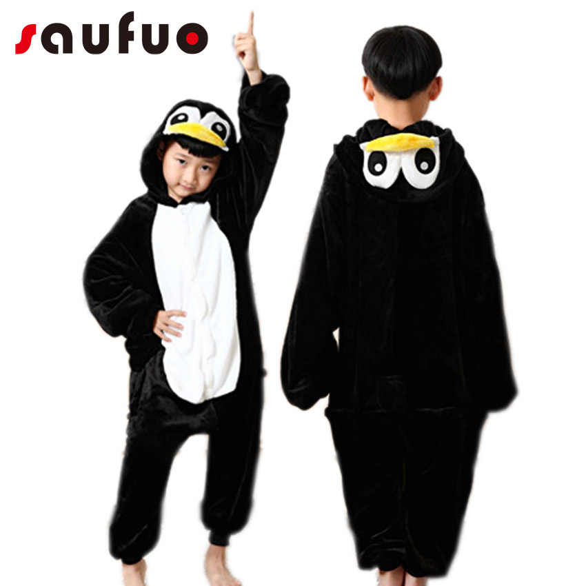8e89f570c515 Detail Feedback Questions about Kids Animal Onesie Penguin Pajama ...