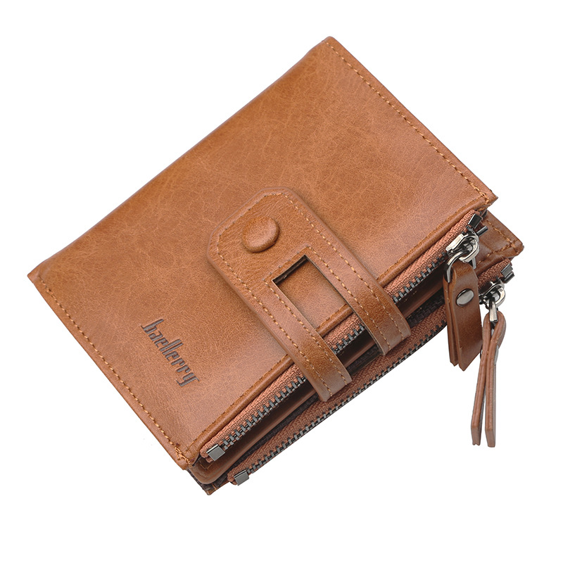baellerry 2018 PU Leather Men Wallet Coin Purse Small Male Walet Portomonee PORTFOLIO Hasp Zipper Money Bag Card Holder Perse