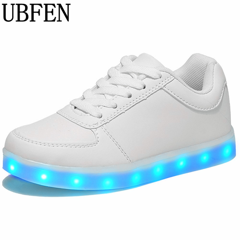 Men's Casual Shoes Feiyitu Led Luminous Shoes For Men Fashion Light Up Casual Male 11 Colors Usb Charge New Simulation Sole Glowing Man Sneakers Men's Shoes