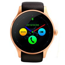 2016 New Waterproof Round Smart Watch K88S font b Smartwatch b font for Android ISO SIM