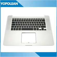 Cover Uk Keyboard Top-Case Replacement Macbook A1398 for Pro Retina 15-with New