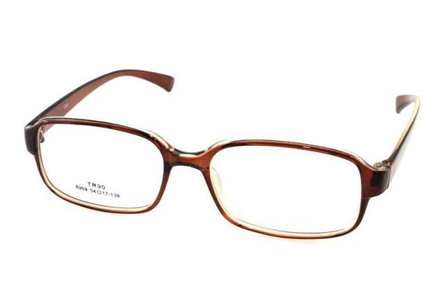 41be82ceb5 Custom Made Progressive multifocal Bifocal prescription lens Eyeglasses See  Near Far Tan big glasses frame spectacles +1To+6ADD